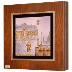 تابلو نقاشی ورق طلایی
