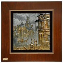 تابلو ورق طلا FWSGB-38x38-A