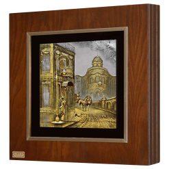 تابلو ورق طلا FWSGB-38x38-C