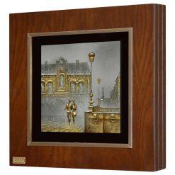 تابلوی ورق طلا FWSGB-38X38-D