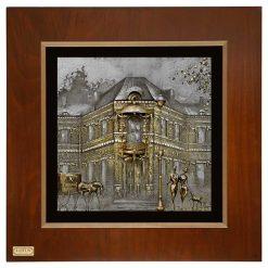 تابلو ورق طلا FWSGB-38x38-F
