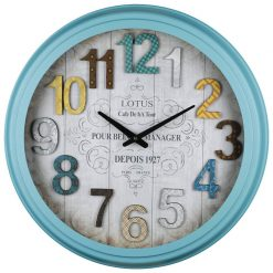 ساعت دیواری فلزی مدل PORTLAND
