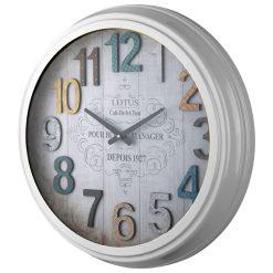 ساعت دیواری فلزی مدل PORTLAND WHITE