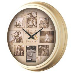 ساعت دیواری فلزی مدل 1700B لوتوس