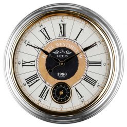 ساعت دیواری فلزی مدل GREENFIELD