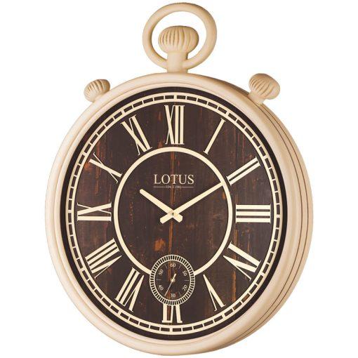 ساعت دیواری چوبی مدل JEORGIA کد 482