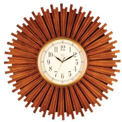 ساعت دیواری چوبی مدل W
