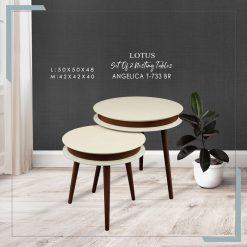 میز عسلی دو تیکه مدل ANGELICA
