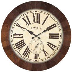 ساعت دیواری چوبی BRENTWOOD