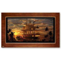 تابلو نقاشی کشتی دزدان دریایی