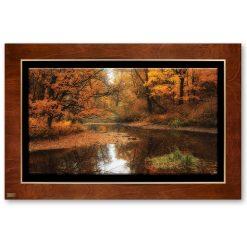 تابلو نقاشی پاییز در رودخانه