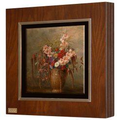 تابلو نقاشی گل ها و گلدان
