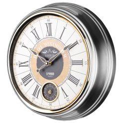 ساعت دیواری فلزی مدل GREENFIELD لوتوس
