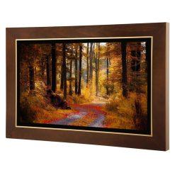 تابلو نقاشی جنگل پاییزی