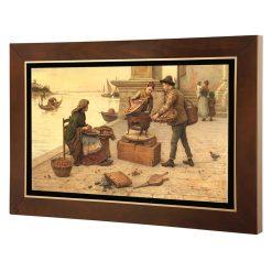 تابلو نقاشی بلوط فروشان