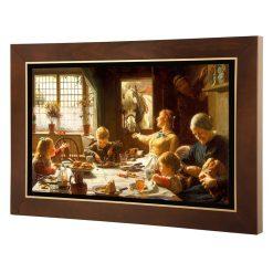 تابلو نقاشی يكي از اعضاي خانواده