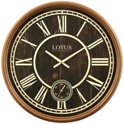 ساعت دیواری چوبی JOHNSON کد 484-WAL