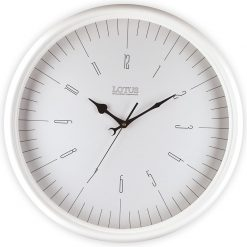 ساعت دیواری چوبی مدل PEARLAND کد 251 رنگ WH