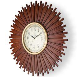 ساعت دیواری چوبی W کد 6900 رنگBR