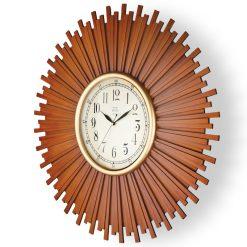 ساعت دیواری چوبی W-6900 رنگ WAL