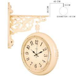 ساعت دیواری دوطرفه مدل LOTUS WD-971