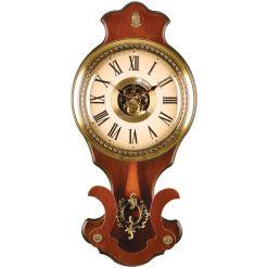 ساعت دیواری چوبی پاندول دار WSP-8802 لوتوس