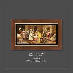 تابلو نقاشی THE WAIT