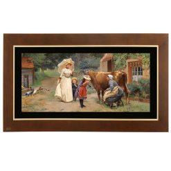 تابلو نقاشی مزرعه