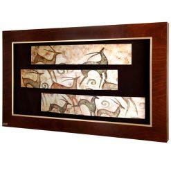 تابلو سه تکه فریم چوبی