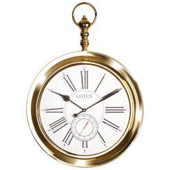ساعت دیواری فلزی مدل JOLIET-M-4031-GOLD