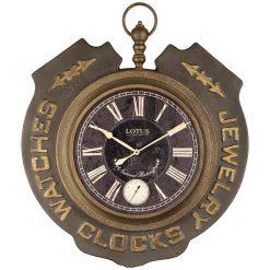ساعت دیواری فلزی WOLFGANG OLIVE لوتوس