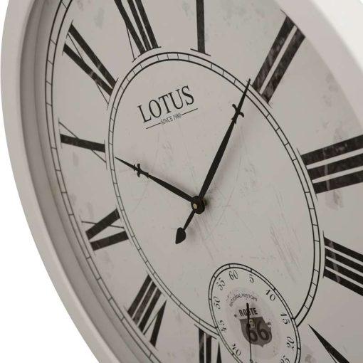ساعت دیواری چوبی مدل GARLAND