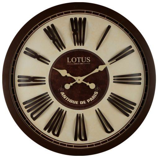 ساعت دیواری چوبی مدل INGLEWOOD لوتوس