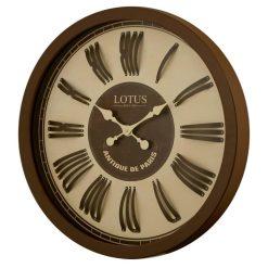 ساعت دیواری چوبی مدل INGLEWOOD
