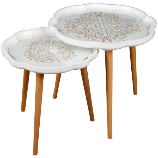 میز عسلی دو تیکه LAURAMANDALA لوتوس