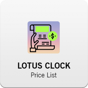LOTUS Clock Price list 300x300 - صفحه اصلی