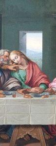 تابلوی شام آخر حضرت مسیح داوینچی LVDL L' NHGK