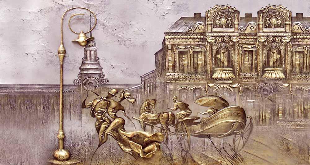 تابلوهای ورق طلا