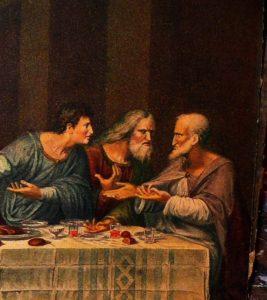 تابلوی شام آخر حضرت مسیح داوینچی