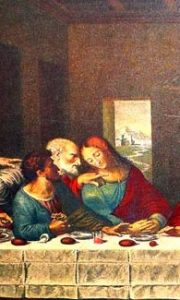 تابلو شام آخر حضرت مسیح داوینچی