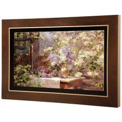 تابلو نقاشی در باغ شکوفه ها