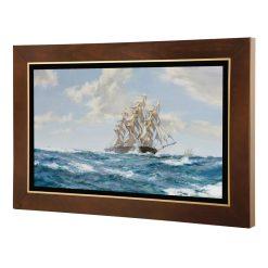 تابلو نقاشی کشتی بادبانی