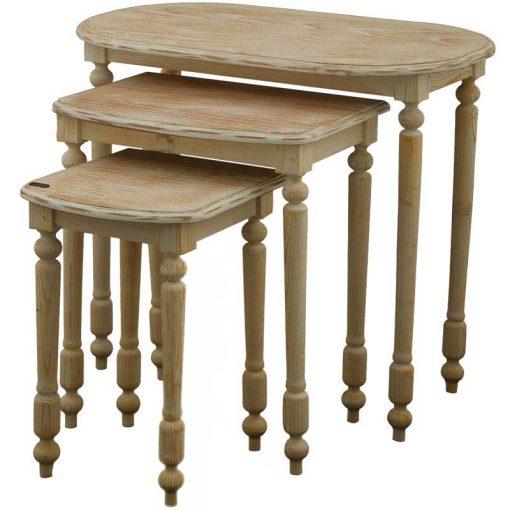 میز عسلی سه تیکه FABIANA
