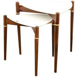 میز عسلی دو تیکه مدل MARTINA