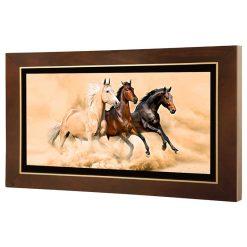 تابلو نقاشی دویدن اسب ها